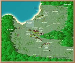 Coco Beach Florida Map by Coco Beach Tourist Map Coco Beach Costa Rica U2022 Mappery
