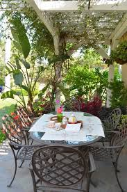 entertaining from an ethnic indian kitchen creating a garden room