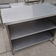 used stainless steel tables for sale used stainless steel table cabinet 120cmw x 60cmd x 91cmh h2