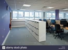 Office Storage Furniture Modern Open Plan Office Storage Cabinets Stock Photo Royalty Free