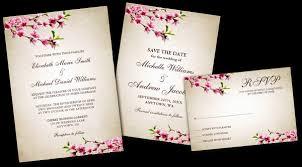 cherry blossom wedding invitations cherry blossom wedding