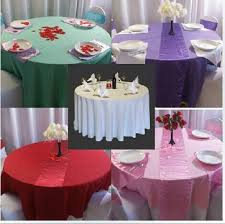 wedding table covers the multi color satin ribbon table cloths wedding cloth 20