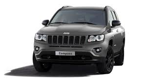 charcoal black jeep jeep compass black look concept set to debut geneva motor show