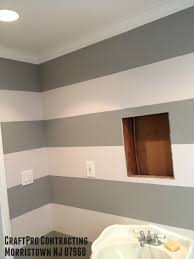 Home Again Design Morristown Nj by Stripes Painted In Morristown Nj Bathroom Decorative Interior
