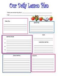 how to make perfect daily lesson plan template roiinvesting com