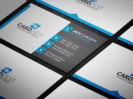 square icons professional business card template cardzest