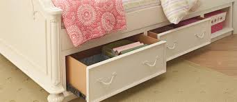 furniture twin arched panel bed with underbed storage unit by