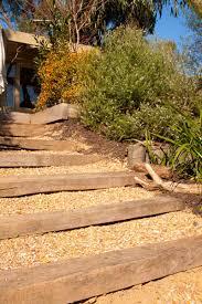 native garden design entrances feature rocks steps