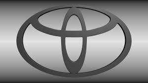 logo de toyota toyota logo tyre 3d cgtrader
