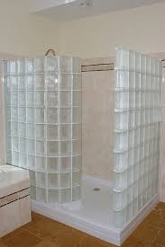 Glass Block Bathroom Ideas 37 Best Glass Block Showers Images On Pinterest Glass Block