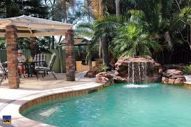 pools with waterfalls the oasis swimming pool waterfalls universal rocks