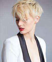 chicos short hair model platinum blonde pixie cut