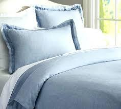 linen duvet cover french blue linenshedau 2french bed linens