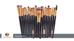 bestpriceam 20 pcs set makeup brush set tools make up toiletry kit