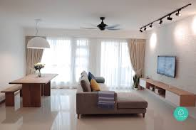 Popular Home Interior Design Themes In Singapore  Scenesg - Living room design singapore