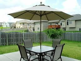 Amazon Garden Table And Chairs Patio Surprising Patio Table With Umbrella Sunbrella Umbrellas