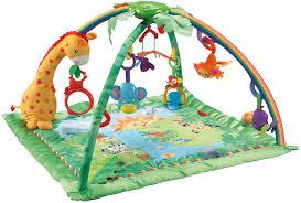 amazon com fisher price infant to toddler rocker rainforest