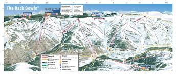Big Sky Trail Map Trail Map Vail