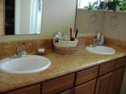 light colored concrete countertops furniture light brown granite bathroom vanity countertop featuring
