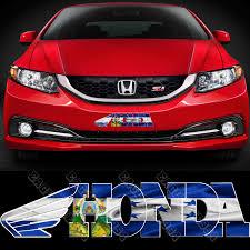 Ford Racing Flag Honduras Flag Decal Honduran Racing Flag Decal Sticker Ho2702