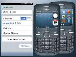 themes nokia asha 310 free download iphone 5 theme asha 302 c3 00 x2 01 asha 200 asha 201 asha 200