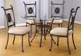 glass dining room table round glass dining room table is also a kind of classy design