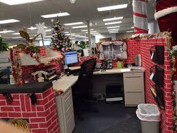 Cubicle Decorating For Christmas Contest Office Christmas Cube