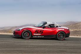 mazda mx series mazda announces new global mx 5 cup race series at sema
