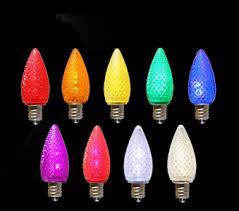 c7 led faceted lights