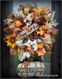 Spring Wreaths For Door by Front Doors Beautiful Fall Wreath For Front Door 50 Spring