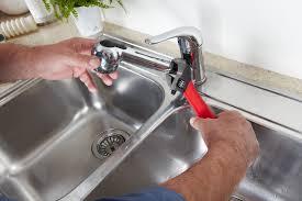 Fix Leaking Kitchen Faucet Plumbing Services Long Jpg