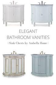 Ambella Bathroom Vanities Unique Bathroom Vanity Clavaron Sink Chest By Ambella Home
