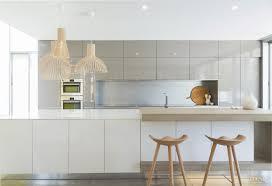 minimalist kitchen with quiet palette and minimal detailing