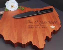 personalized serving platters gifts personalized country shaped cutting board large chopping