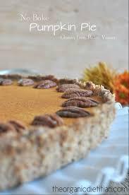 dairy free thanksgiving dessert no bake pumpkin pie gluten free dairy free vegan options the