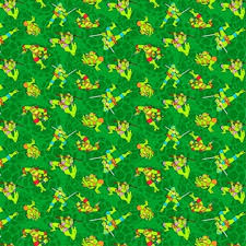 tmnt wrapping paper cotton fabric character fabric tmnt mutant