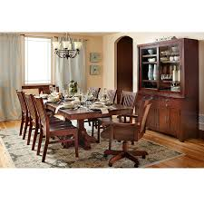 elements of a formal dining room front door
