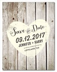 rustic save the date rustic save the date cards on recycled paper vintage boards by