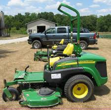 john deere 997 ztrak lawn mower item c2615 sold wednesd