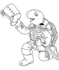 coloring pages franklin animated images gifs pictures