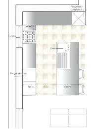plan de cuisine moderne avec ilot central plan cuisine avec ilot central 5 cuisines et nos vues 3d d co plan