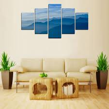 blue mountain paintings promotion shop for promotional blue