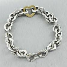 tiffany silver bracelet with heart images Tiffany heart clasp bracelet ebay jpg