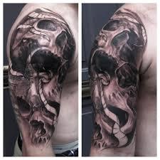 100 half sleeve cross tattoo designs angel and cross tattoo