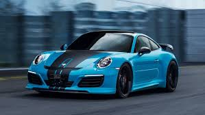 teal porsche 2016 porsche 911 turbo s by techart review top speed