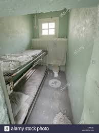 Prison Bunk Beds Prison Cell With Bunk Beds Stock Photo 87751627 Alamy