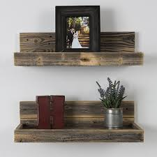 Free Floating Shelves by Buy Reclaimed Wood Floating Shelves Free Shipping By Del