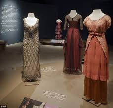 Delaware travel dresses images Downton abbey 39 s costumes come to america in new exhibit daily jpg