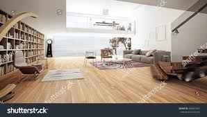 modern interior design living room 3d stock illustration 429841057