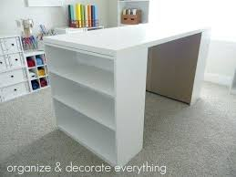 ikea craft table hack craft table ikea hack gallery of storage tinyrx co